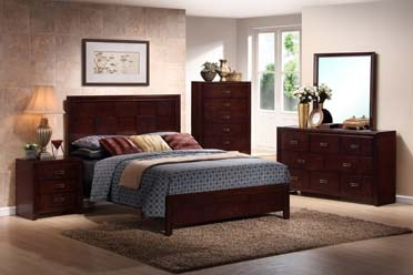 OTAGO FULL SIZE BED 517004-BF & OTAGO QUEEN BED 517004-BQ