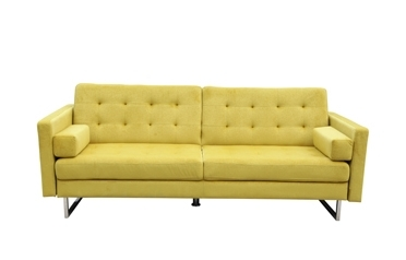 Verona sofabed bed--Yellow/Grey
